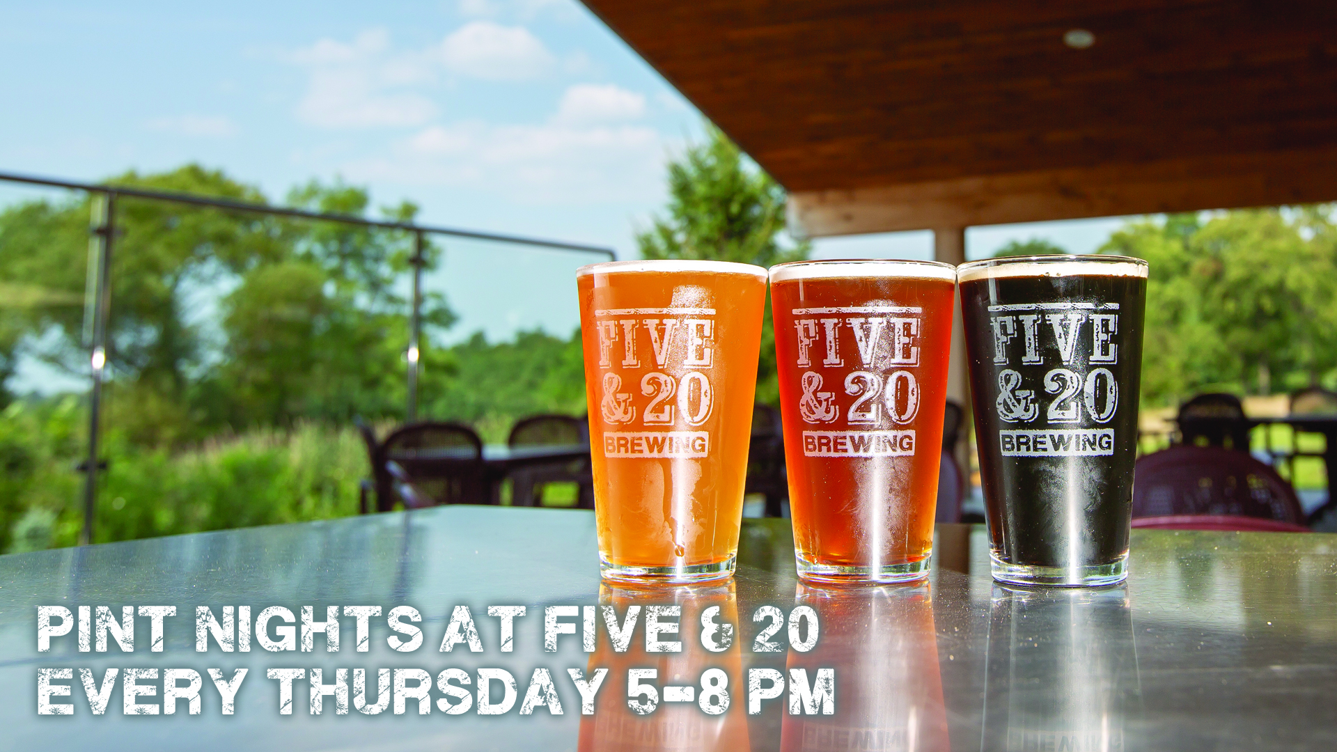 Pint Night at Five & 20